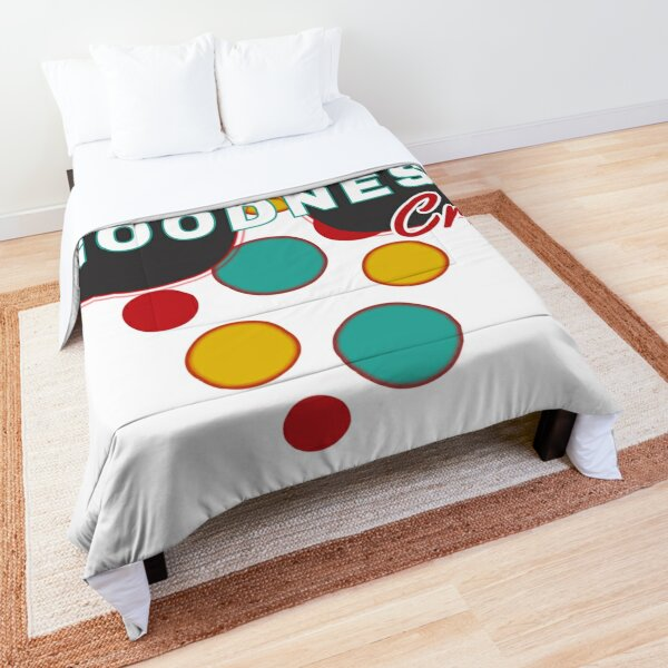 Sugar Free Goodness Crew   Colorful Dot Accessories  Fun   Expressive   Comforter