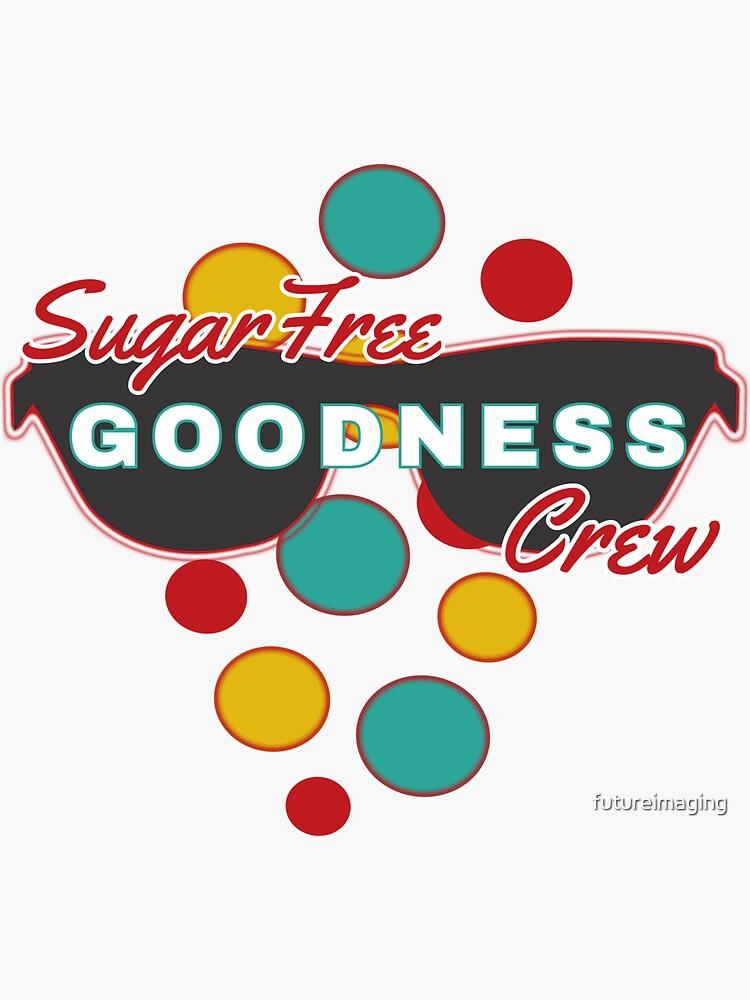 Sugar Free Goodness Crew   Colorful Dot Accessories  Fun   Expressive   by futureimaging