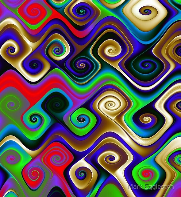 Polychrome Gnarls No. 1 by Mark Eggleston