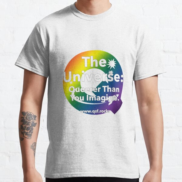 QSF Universe Logo - Transparent Classic T-Shirt