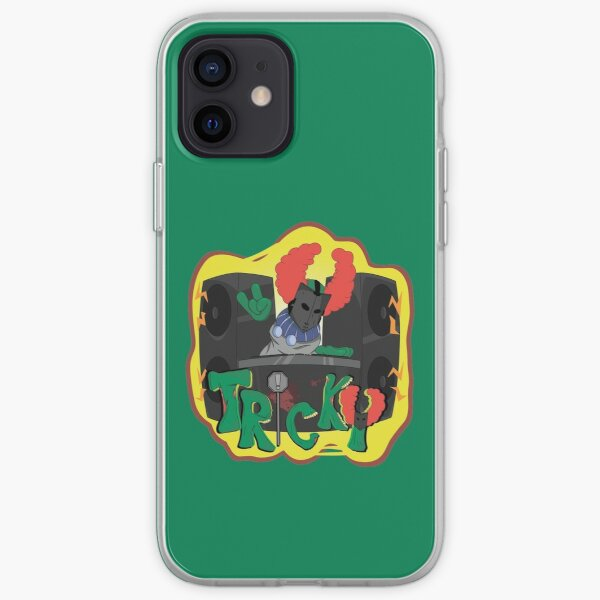 Tricky fnf mod character graffiti iPhone Soft Case