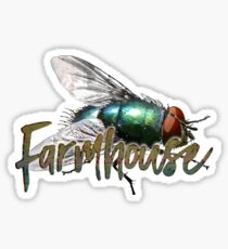 Phish Farmhouse Cluster Fly Sticker