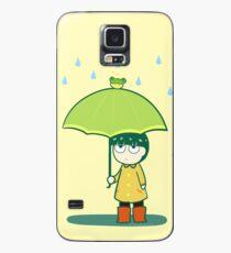 Frosch Regenschirm Hülle & Klebefolie für Samsung Galaxy