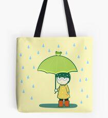 Frog Umbrella Tote Bag