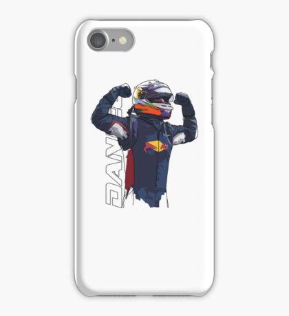 Daniel Ricciardo iPhone Case/Skin