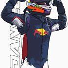 Daniel Ricciardo by Tom Clancy