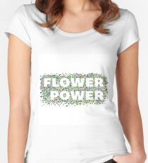 Flower Power Women's Fitted Scoop T-Shirt