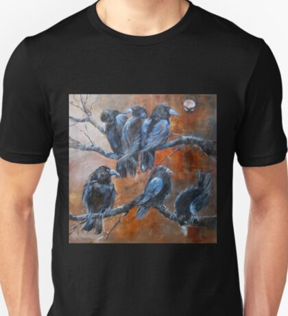 """The Courtroom Public Gallery (from """"A Murder of Crows"""") T-Shirt"""
