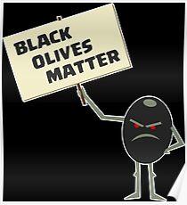 Black Lives Matter Parody Poster