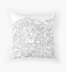 Color Your Own Design #1 Throw Pillow