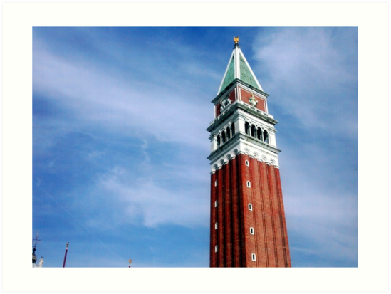 "BELL TOWER OF SAN MARCO - ""EL PARON DE CAXA"" - VENEZIA  - -EUROPA- 5000  AMICI TI HANNO SALUTATO MIKE !!!                                                                                               by Guendalyn"