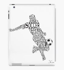 Soccer Player iPad Case/Skin