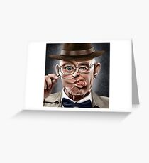 The Wacky Inspector Greeting Card