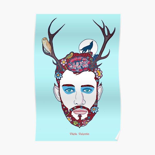 Cernunnos - Wild God of the Forest Poster
