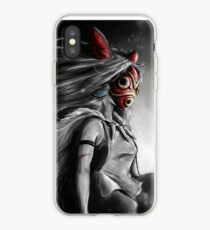 Mononoke Wolf Anime Tra Digitale Malerei iPhone-Hülle & Cover
