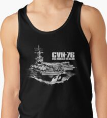 Aircraft carrier Ronald Reagan Men's Tank Top
