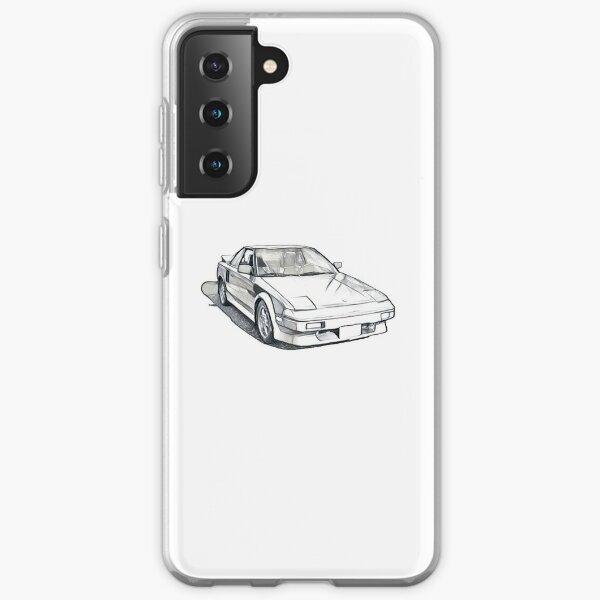 AW11 Toyota MR2 Sketch Samsung Galaxy Soft Case