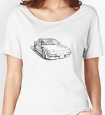 AW11 Toyota MR2 Sketch Women's Relaxed Fit T-Shirt
