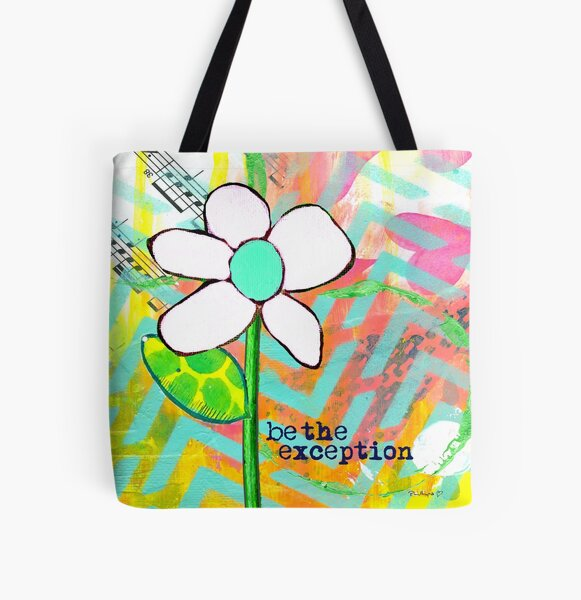 """""""Be The Exception"""" Original Design by PhillipaheART All Over Print Tote Bag"""