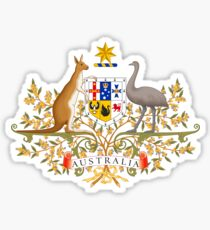 AUSTRALIAN COAT OF ARMS Sticker