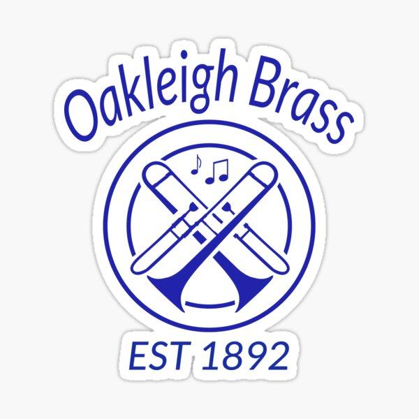 Oakleigh Brass Merch Sticker