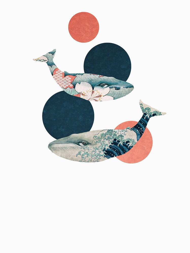 Whale and Polka Dots | Unisex T-Shirt