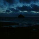 Stormy island by MrDeath