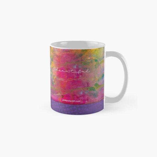 """Beautiful"" Original Design by PhillipaheART Classic Mug"