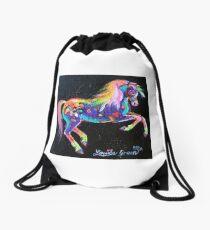 Colour Dance Pony Drawstring Bag