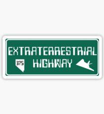 Extraterrestrial Highway, Nevada Road Sign Sticker