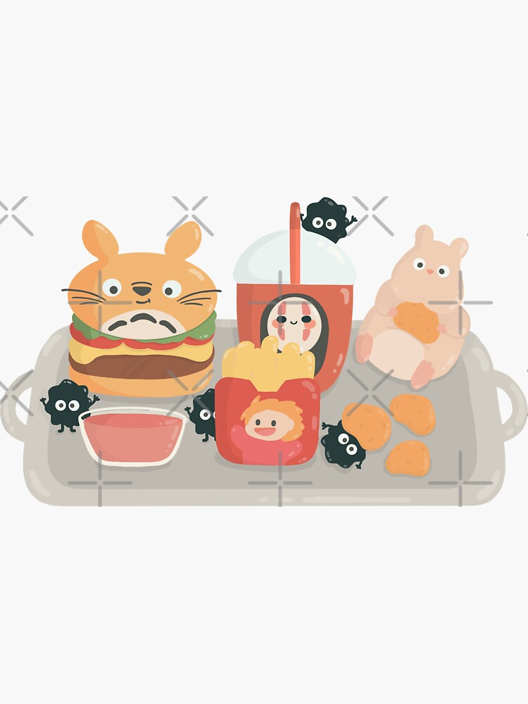 Ghibli fast food | fan  by Katedmz