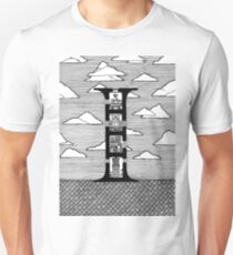Letter I Architecture Section Alphabet T-Shirt