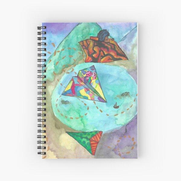 Wind Rider Spiral Notebook