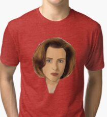 Agent Scully Tri-blend T-Shirt