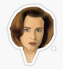 Agent Scully Sticker
