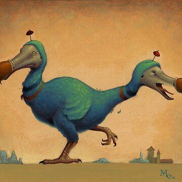 2 Headed Dodo by MARKELLIOTT