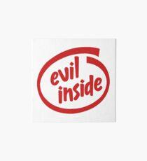 Evil Inside Art Board