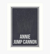 ANNIE JUMP CANNON - Women in Science Collection Art Print