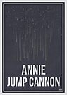 ANNIE JUMP CANNON - Women in Science Collection by Hydrogene