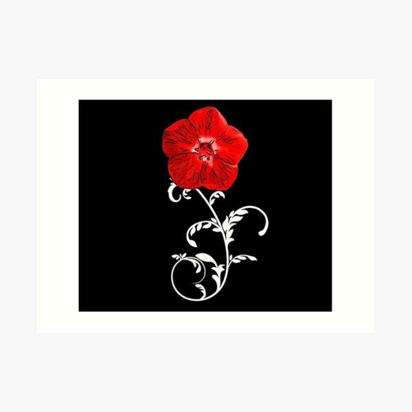 Seal of the Scarlet Pimpernel  Art Print