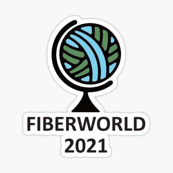 Fiberworld 2021 Sticker