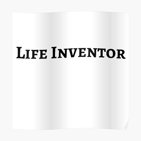 Life inventor Poster
