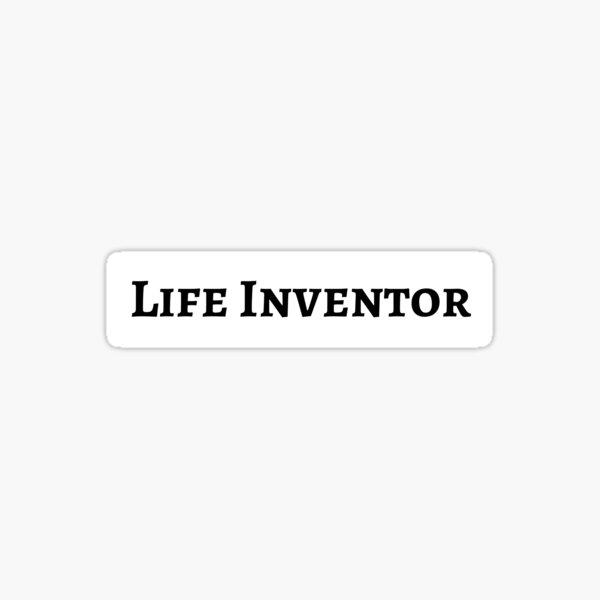 Life inventor Sticker