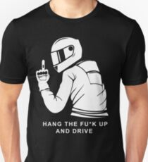 Funny Motorcycle Driver Unisex T-Shirt
