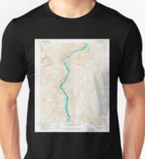 USGS TOPO Map Arizona AZ Willow Beach 314127 1959 24000 Unisex T-Shirt