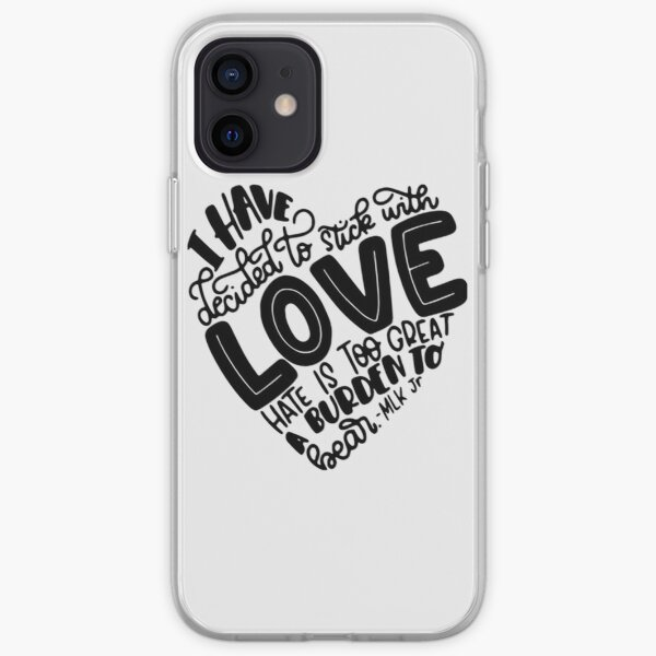 Quotes By Martin Luther King J| Perfect Gift iPhone Soft Case
