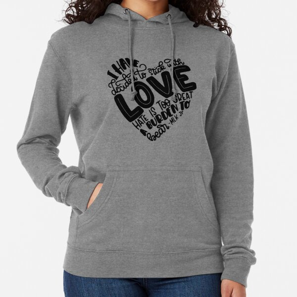 Quotes By Martin Luther King J  Perfect Gift Lightweight Hoodie