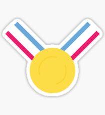 Für das Gold (Medaille)! - Olympiade Rio 2016 Sticker