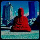 Red Buddha by bodhilens