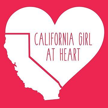 California Girl at Heart by atheartdesigns